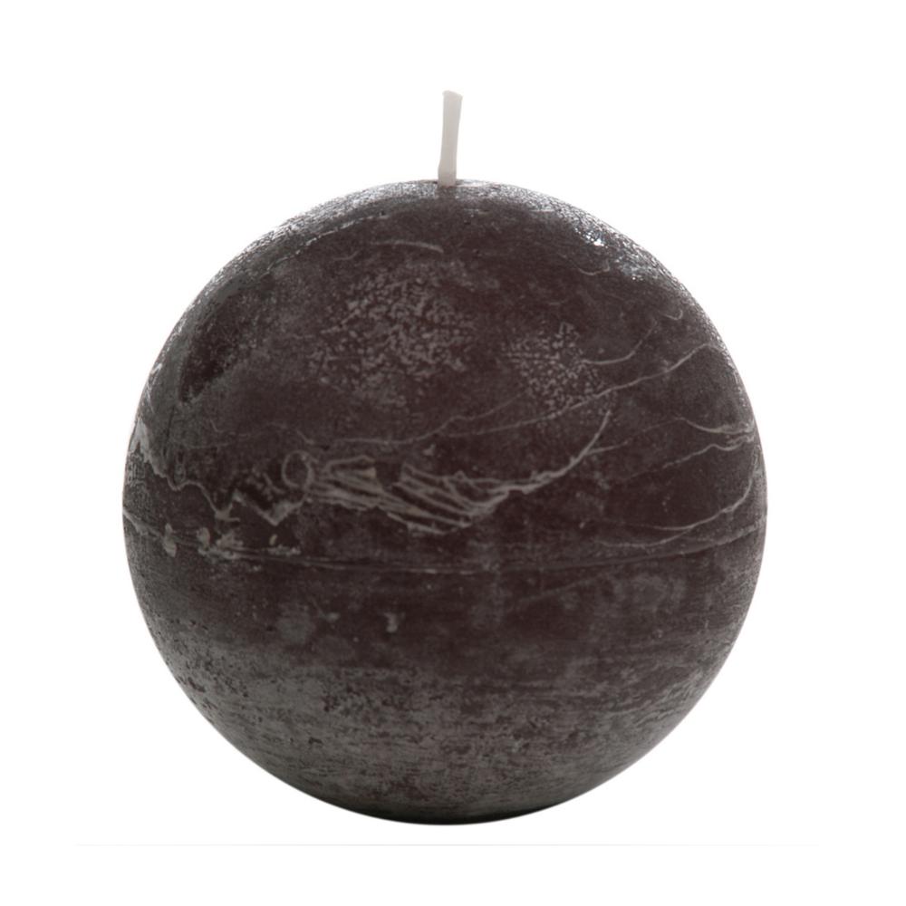 Κερί Διακοσμητικό Παραφίνης, L-40h, Μαύρο, 8,5x8,5εκ., J-Line